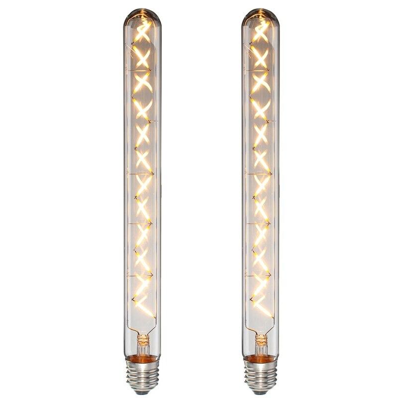 Energy Saving 12W COB Retro LED Lamp Bulb T30 E27 E26 Dimmable Edison Vintage LED Light Bulb 220V/110V Home Decoration Lights