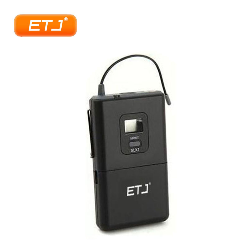 Professional UHF Wireless Microphone Transmitter Bodypack SLX1 Beltpack Mini 3 Pin Connector ETJ shure ulxd1 p51 bodypack transmitter