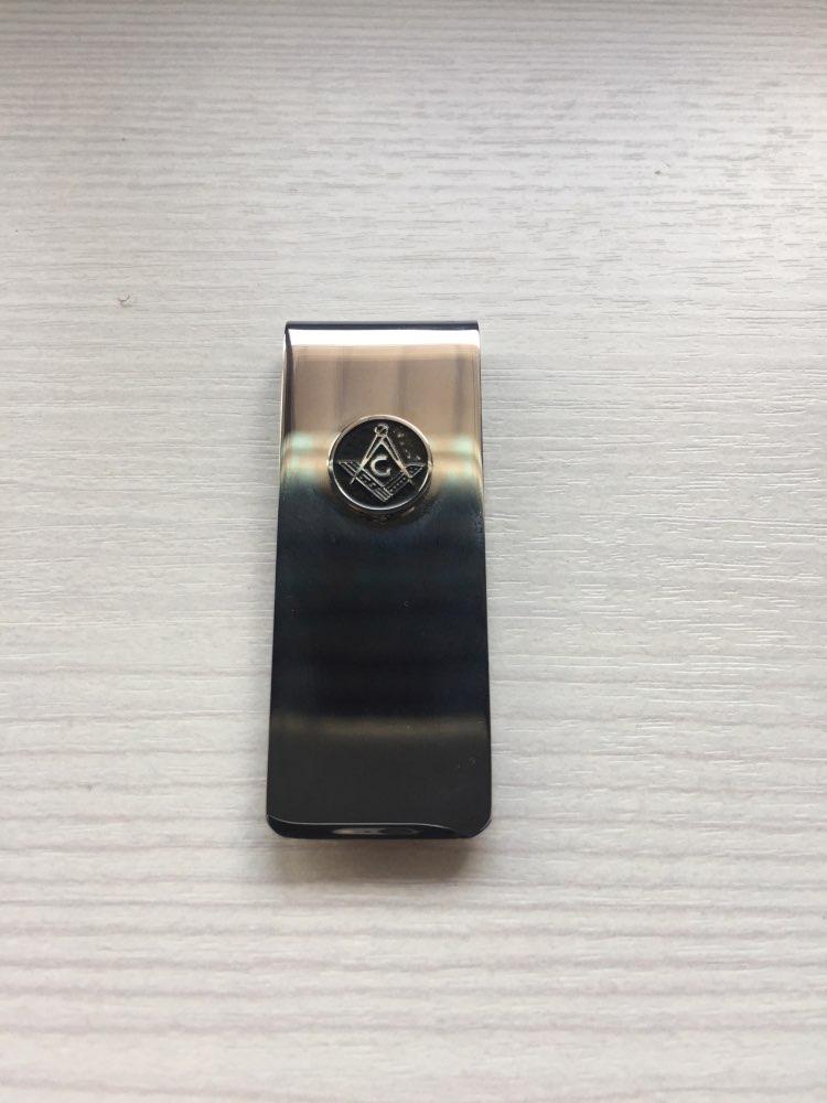 NASTASSA Minimalist Money Metal Clip Titanium Stainless Steel Symbol Money Clips Fashion Accessories For Souvenir Gifts photo review