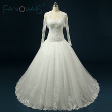 FANOVAIS Wedding Dress With Ball Gown Wedding Dress