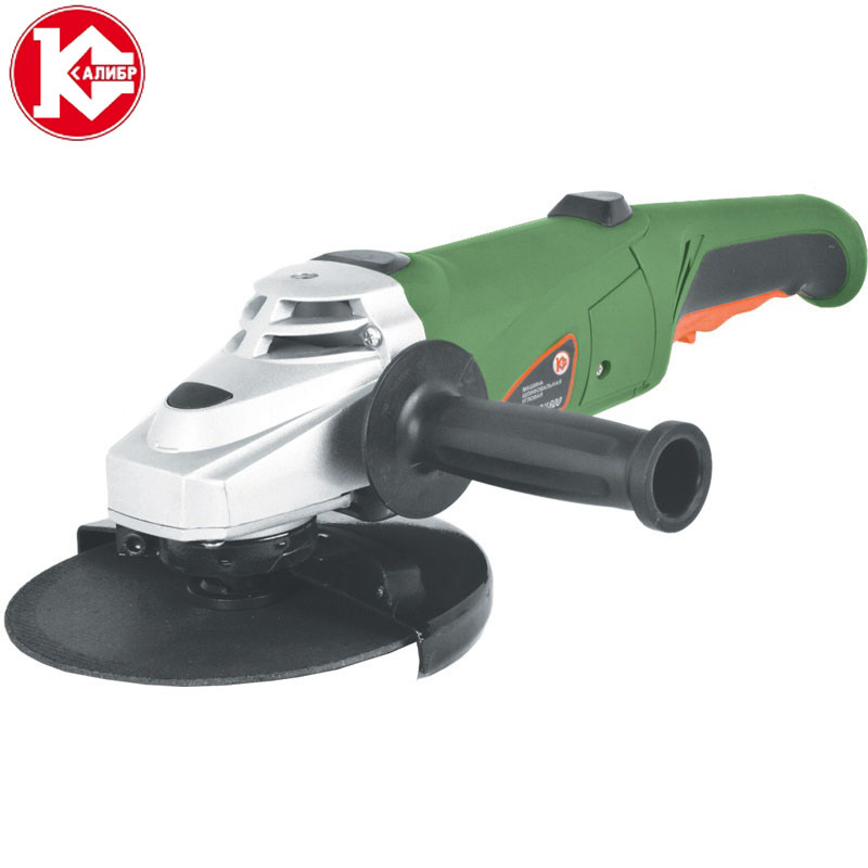 Kalibr MSHU-180/1800 Electric Angle Grinder Speed Grinding Machine for Metal, Wood Polishing Cutting zonesun capping head for new perfume cap crimping machine capper metal cap press machine capping machine