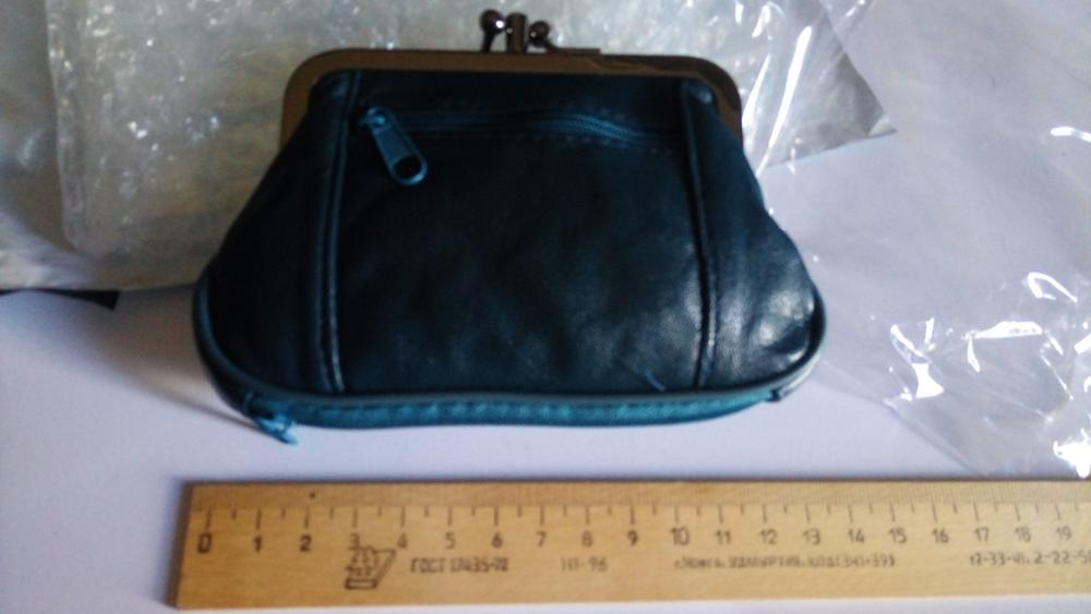 Genuine Sheepskin Leather Hasp Coin Wallet Mini Change Purse*