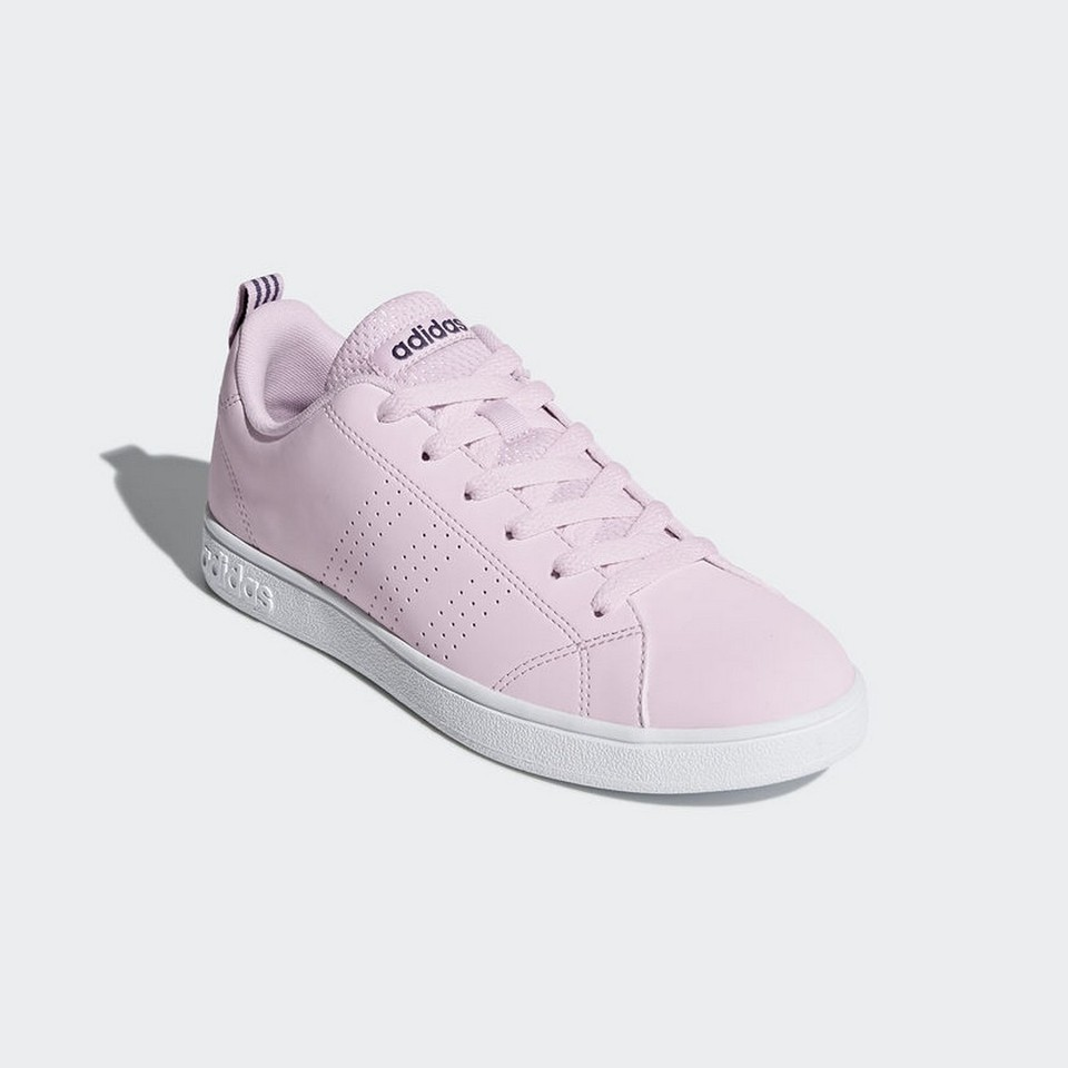 €65.0 |Sneakers DB0845 Zapatilla Adidas VS Advantage Clen Rosa Blanco  Mujer|Zapatos de tenis| - AliExpress