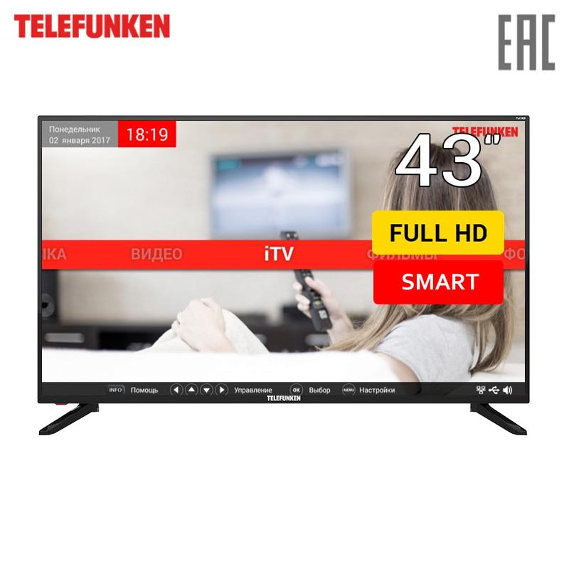 TV 43 Telefunken TF-LED43S81T2S FullHD SmartTV 4049inchTV tv led lg 43 43uk6390plg 4k uhd smarttv 4049inchtv