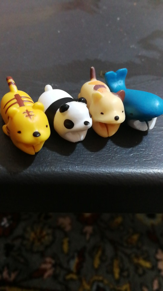 Super Cute Animal Bites Cable Protector (5 Pieces Per Order) photo review