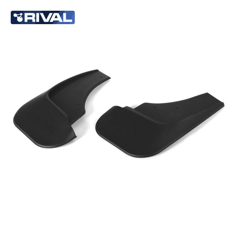 For Skoda Rapid 2013-2019 rear mudguards 2 pcs/set high quality Mud Flaps Splash Guard Rival 25102002 car mud flaps splash guard 4pcs plastic for bmw x5 e70 2008 2013