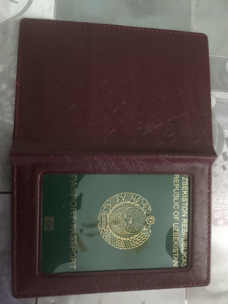 1PCS Nieuwe Transparante Rusland paspoort Cover duidelijke kaart ID houder Case voor het reizen paspoort zakken Business Case Fashion Designer photo review