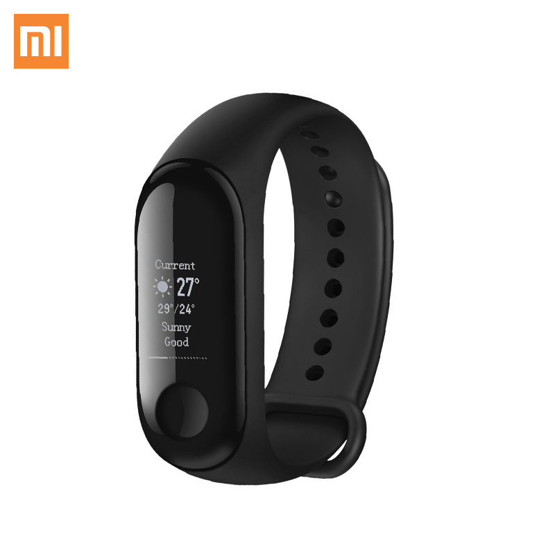 Smart watch Xiaomi Mi Band 3 cute stylish pu band women watch