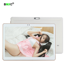 BMXC DHL free 10.1 inch Octa Core 3G 4G phone tablet MTK6592 Android 7.0 4GB RAM 64GB ROM Dual SIM Bluetooth GPS 4G Tablet PC