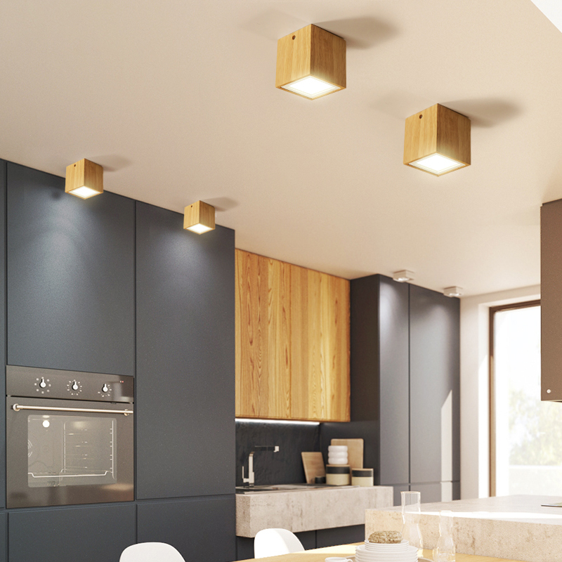 Modern LED Ceiling Light Fixtures for Living Room Bedroom Wood Round Square Lamp Home Decoration Indoor Lighting Fixture Design Modern LED Ceiling Light Fixtures for Living Room Bedroom Wood Round Square Lamp Home Decoration Indoor Lighting Fixture Design