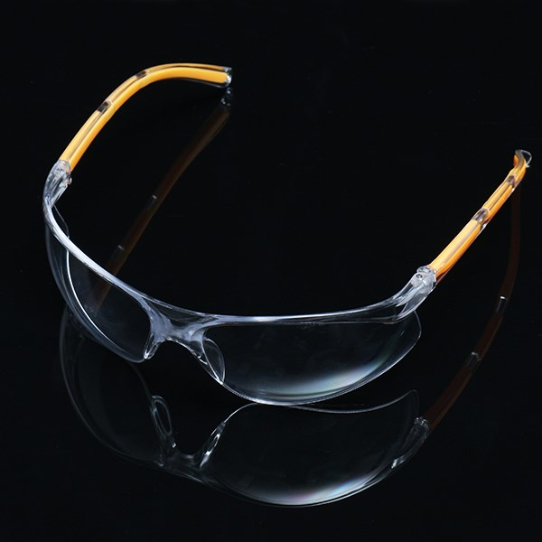 NEW Safurance Anti-UV PC Protective Glasses Goggles Yellow Legs Protection for Lab Safety Goggles Anti Dust industrial eye safety goggles anti impact and anti chemical splash goggle glasses dustproof polycarbonate protective glasses