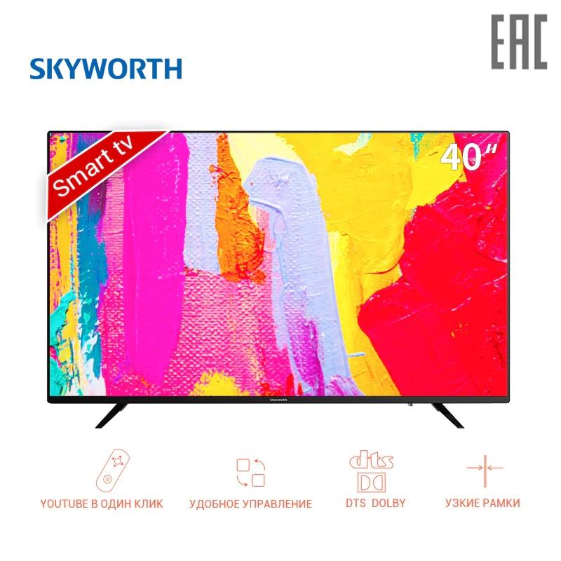TV sets 40 Skyworth 40E2AS FullHD Smart led clear TV FHD dobly  dvb dvb-t dvb-t2 digital 4049InchTv television led tv 43 goldstar lt 43t510f fullhd 4049inchtv