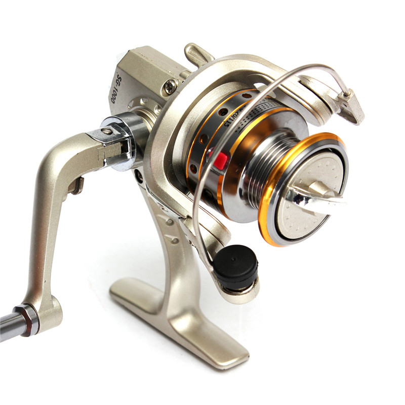 Bobing SG1000 6BB 5.1:1 Spinning Reel Pre-Loading Fishing Reels High Power Version Carp Lure Fishing Wheels Tackle Tools