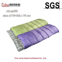 NEW Outdoor Ultralight 3-4 Season Envelope Rectangle Camping 3D Sleeping Bag Travel Hiking Multifuntion
