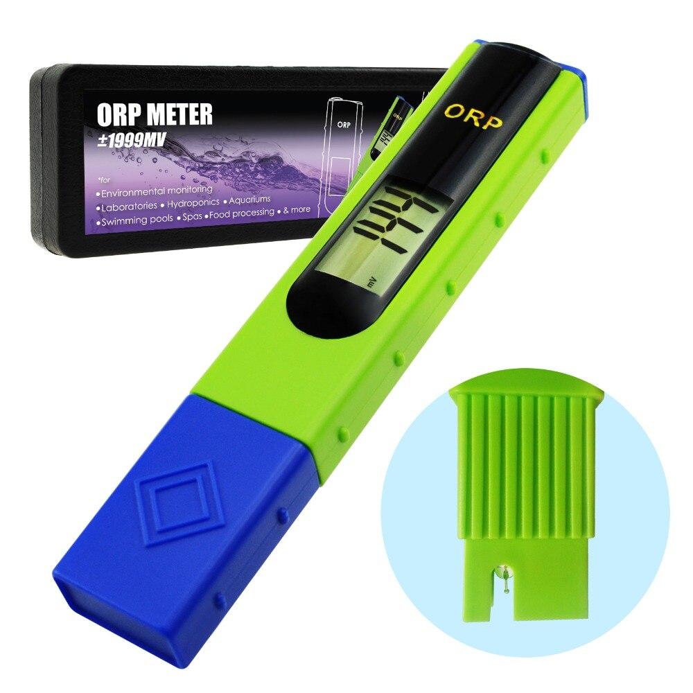 ORP Redox Medidor Tester-1999 ~ 1999mV, 1-ponto de Calibração, o Potencial de Redução de Oxidação, piscinas, Sistemas de Tratamento de Água