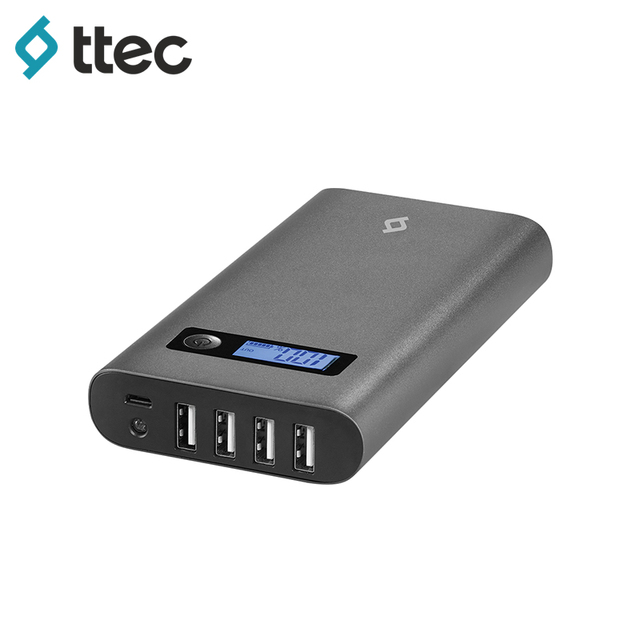 Внешний аккумулятор ttec PowerUp Multi 15.600 серый (2BB137UG)