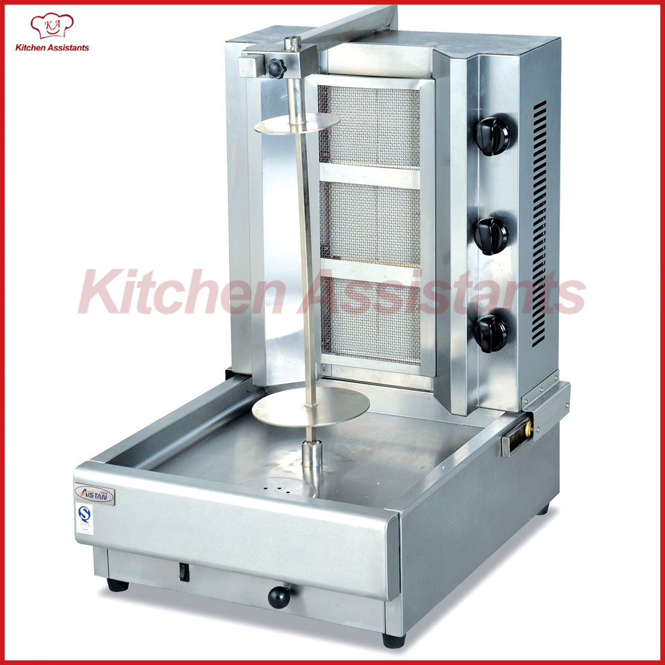купить GB800 gas kebab machine rotisseries roaster machine по цене 59085.83 рублей