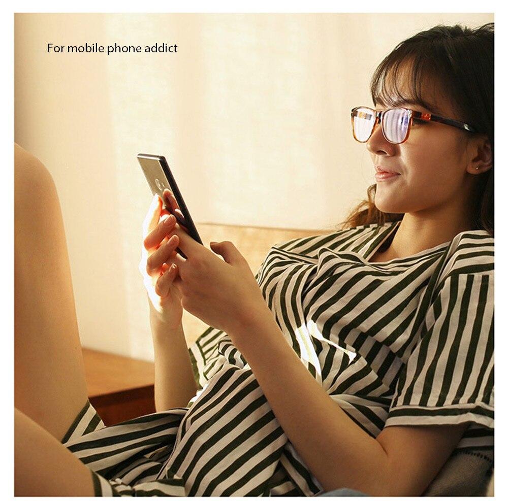Xiaomi Mijia Qukan W1 ROIDMI B1 desmontable Anti-azul-rayos protección de ojo de vidrio Protector para hombre mujer jugar teléfono/computadora/juegos - 3