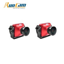 2PCS RunCam Eagle 2 800TVL CMOS 2.5mm 16:9 NTSC / PAL Switchable WDR FPV Camera Low Latency Orange Black Action Cam for RC Drone