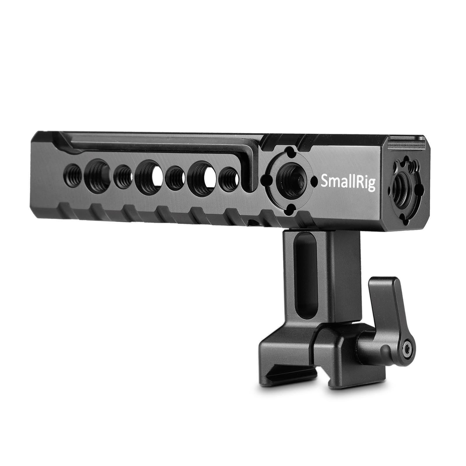 Petite caméra poignée vidéo caméscope Action stabilisant poignée otan poignée supérieure réglable pour petite plate-forme BMPCC 4 K Cage 1955