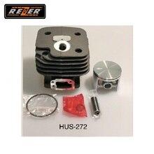 Цилиндр с поршнем HUS-272 Rezer для бензопилы
