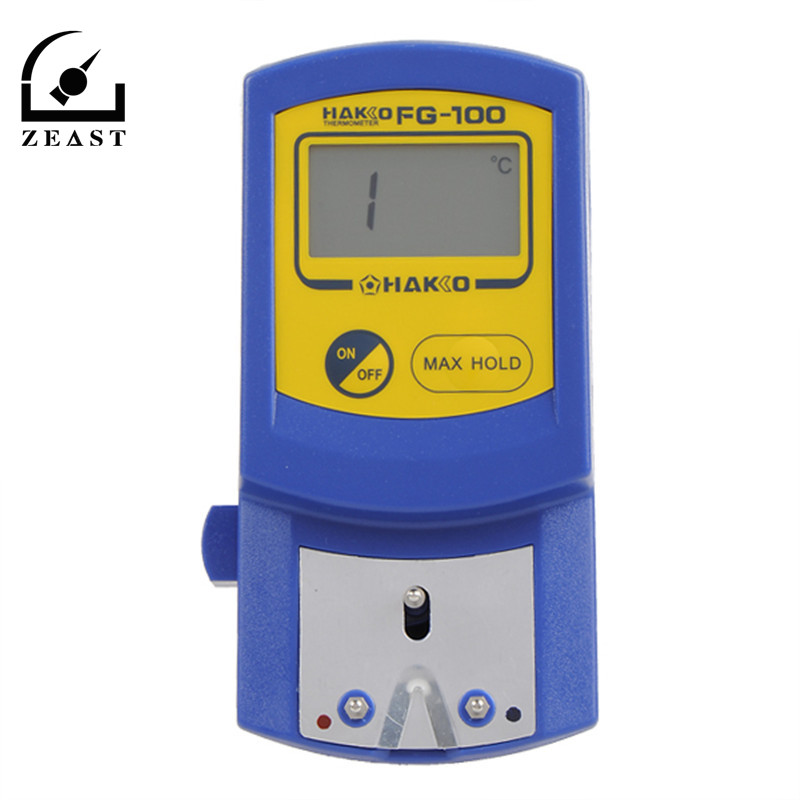 FG-Digital Saldatore Punta del Termometro Punta del Saldatore Temperatura Tester con 5 pz Termometro sensore