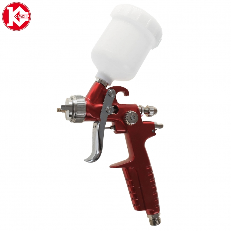 Pneumatic air spray gun Kalibr KRP-1,0/0,12 VB PROFI kalibr pgu 13 570 profi pneumatic air impact wrench pneumatic tools hammer power tools