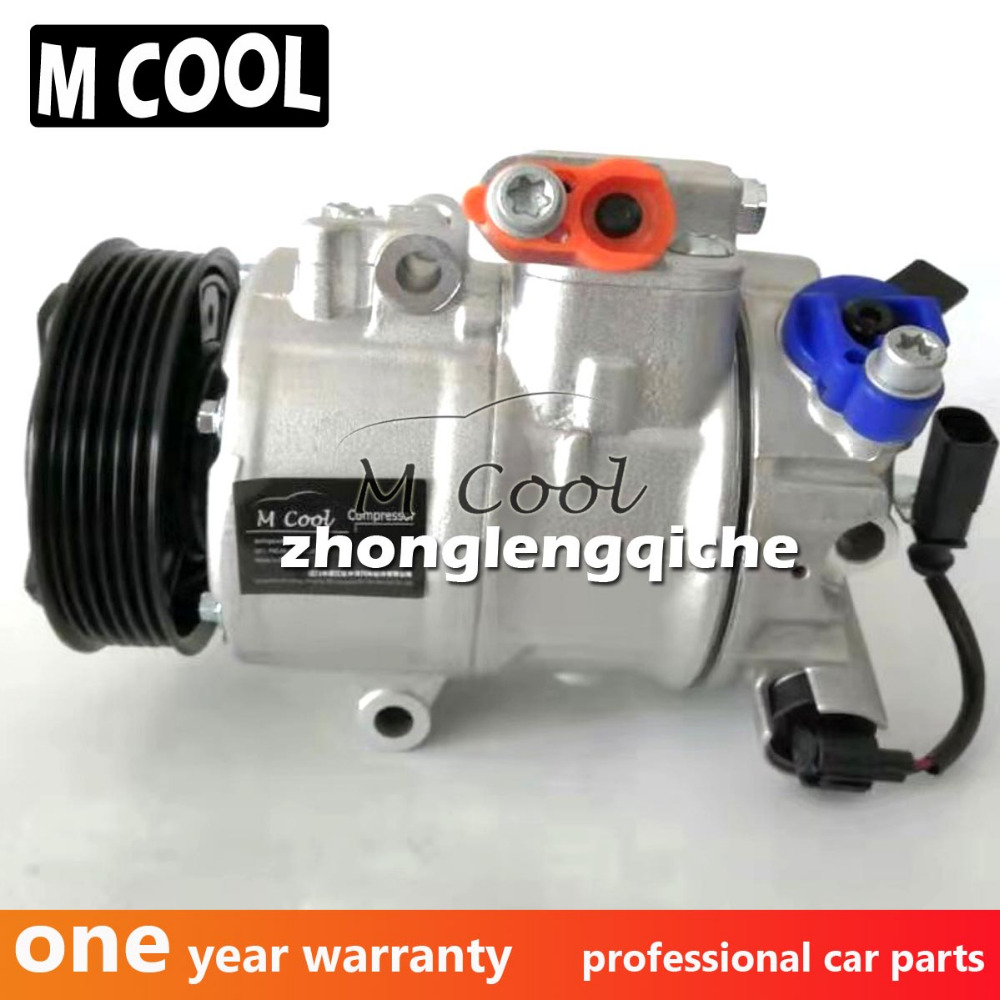 New AC Compressor For Volkswagen POLO 2001 2009 6Q0820803J 6Q0820803P 6Q082080 6Q0820808B 6Q0820808D 6Q0820808F in Air conditioning Installation from Automobiles Motorcycles