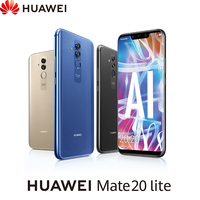 [Spanish Version] Huawei Matte 20 Lite, smartphone 6.3 RAM 4 hard GB + ROM 64 hard GB, Double SIM, Double Camera Front.