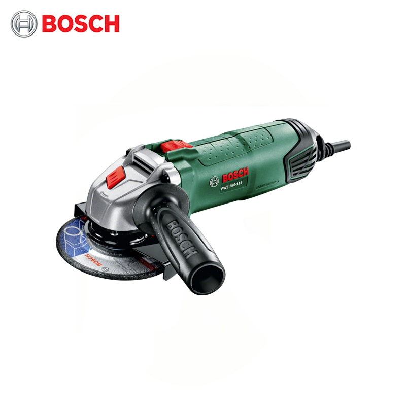 Polisher Bosch PWS 750-115 tools tool power electric bulgarian lbm ушм болгарка bosch pws 750 115 0 603 3a2 420