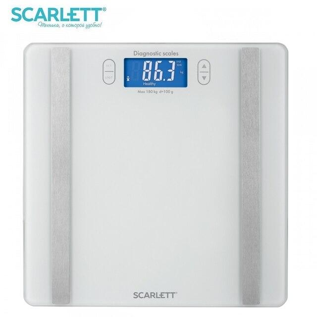 Весы напольные Scarlett SC-BS33ED85