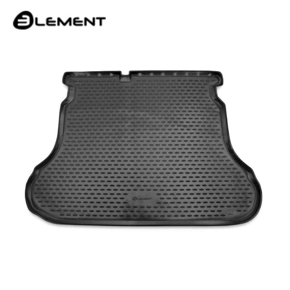 лучшая цена For Lada Vesta Sedan 2015-2019 car trunk mat Element CARLD00002