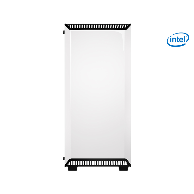 S13-2 Gaming PC Desktop i7 8700K 3 7GHz Intel Core 120mm Water Cooler Z370  SSD+HDD 8GB RAM Gaming Computer White Fans 500W PSU