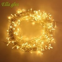 50M 500LED Strings Light AC 110V 220V Outdoor Waterproof Led Lamp Christmas Wedding Party Decoration Lights