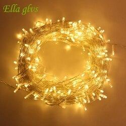 50M 500LED Strings Light AC 110V 220V outdoor Waterproof led lamp Christmas/Wedding/Party Decoration Lights