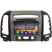 7″ (2GB RAM 4GB RAM for choice)32GB ROM Android 6.0 Octa Core Car DVD Multimedia Radio GPS For Hyundai SANTA FE 3 Hole 2006-2012