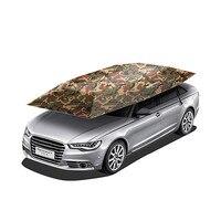 Nuttig Draagbare Semi-automatische Auto Paraplu Zonnescherm Dak Cover Tent Uv-bescherming Nieuwe Outdoor Tent Voor Auto Fishging