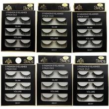 SHIDISHANGPIN Eyelashes Mink Eyelashes Natrual Long Lashes 100% Cruelty Free Mink False Lashes Reasuble High Quanlity Makeup