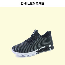 CHILENXAS 2017 Autumn Winter Men Casual Shoes Air Mesh New Fashion Shoes Comfortable Breathable Hard-wearing Height Increasing