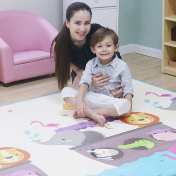 Baby play floor odorless playing infant XPE foam cartoon thickened toddler crawling mat on sale