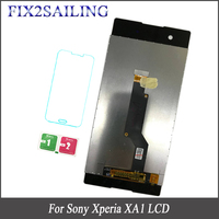 6.0'' 100% Tested LCD Display For SONY Xperia XA1 Touch Screen Replacement For Sony Xperia XA1 G3112 G3116 G3121