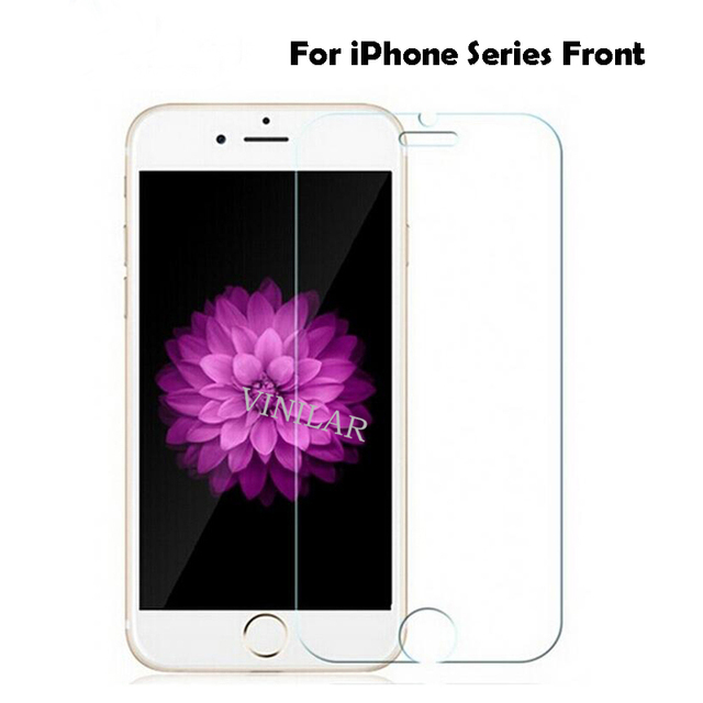 hd protective glass for iPhone 6 6 s 7 protectiv glass on iPhone 7 6 tempered glass on the for iPhone 5 se 6 7 8 plus X