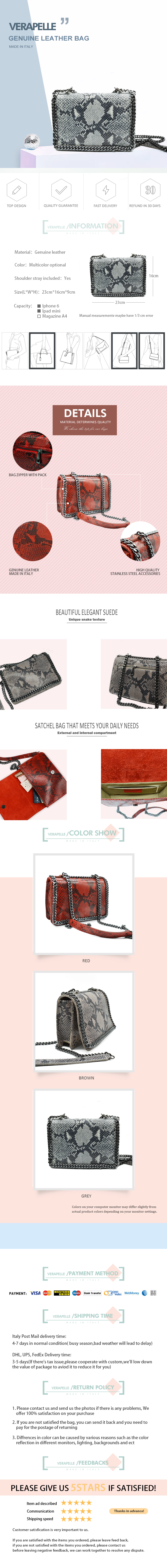 Shoulder Bag High Quality Leather For Woman 2
