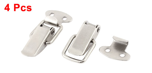 UXCELL Suitcase Chest Tool Boxes Metal Spring Loaded Toggle Latch Hasp Lock Locking 4Pcs