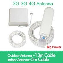 2g, 3g, 4g антенна 25dBi для GSM CDMA DCS pcs 4G LTE umts 850 900 1800 1900 2100 2600 2700 МГц сигнальный усилитель повторитель усилитель