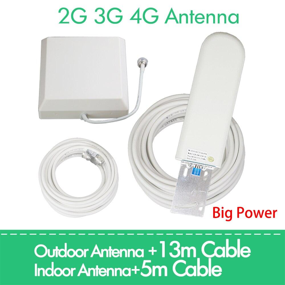 2g 3g 4g antenne 25dBi Pour GSM CDMA DCS pcs 4G LTE UMTS 850 900 1800 1900 2100 2600 2700 MHz Répéteur de Signal Amplificateur