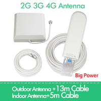 ZQTMAX 2g 3g 4g antenna 25dBi For GSM CDMA DCS pcs 4G LTE UMTS 850 900 1800 1900 2100 2600 2700 Cellular Signal Amplifier