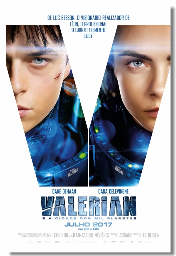 Custom Canvas Wall Murals Movie Valerian Poster Valerian Wall Paper Cafe Bar Sticker Office Wall Painting Home Decoration #0100#
