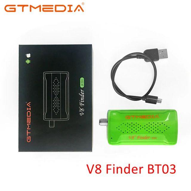 Original gtmedia v8 finder bt03 DVB S2 localizador de satélite melhor do que sat ws 6933 ws6906 atualização freesat bt01