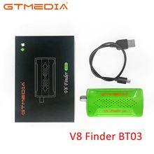 Oryginalny GTmedia V8 Finder BT03 Finder DVB S2 wizjer satelitarny lepiej niż Sat ws 6933 ws6906 upgrade freesat bt01